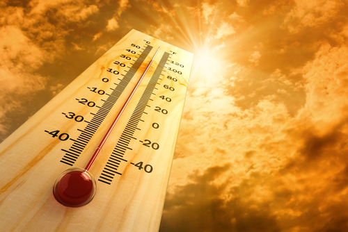 Thermometer,In,The,Sky,,The,Heat